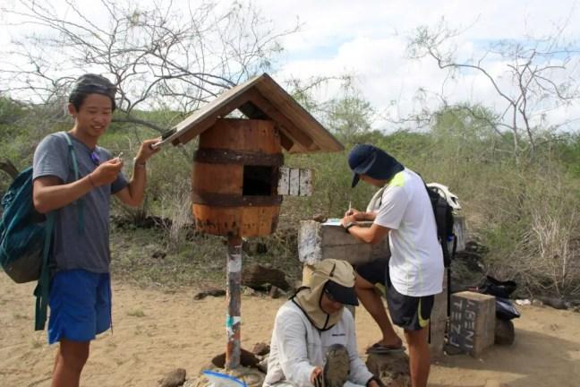 brievenbus Galapagos Floreana