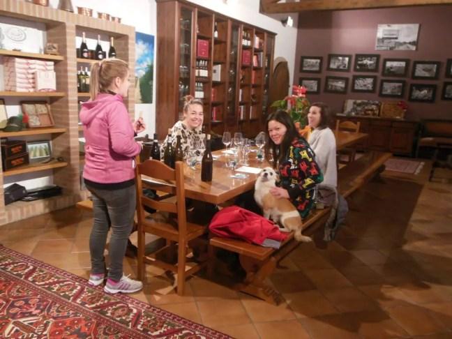 uitleg Ca del Baio wijntour italianna