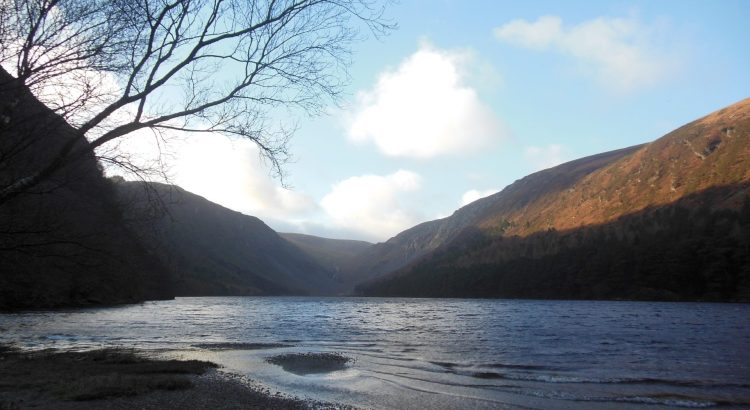 Upper Lake Wicklow Mountains