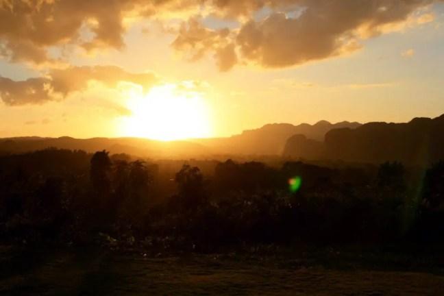 Sunset Valle de Vinales