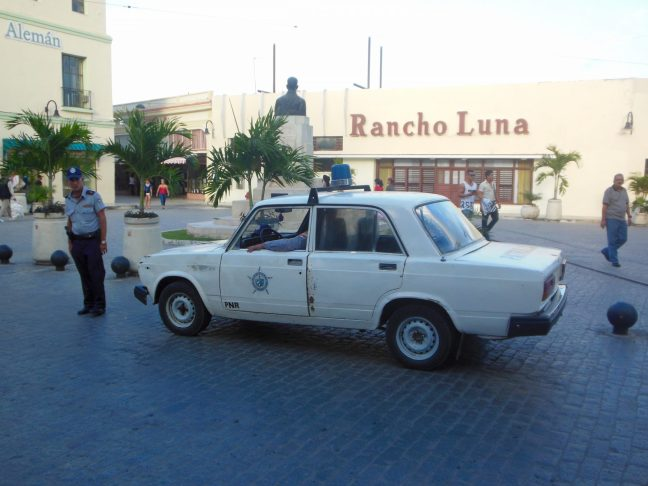 politie in Camaguey Cuba