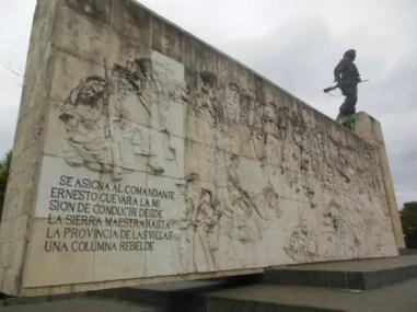 bronzen beeld Che Guevara Santa Clara