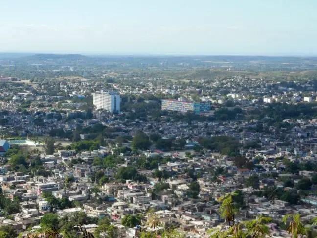 Uitzicht over Holguín