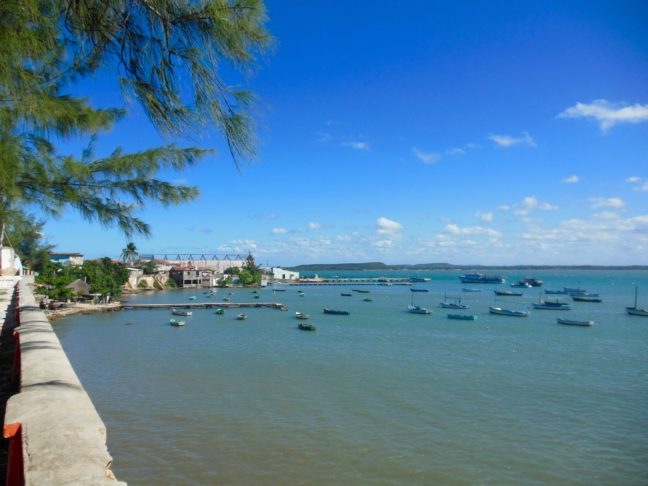 Zee bij Gibara