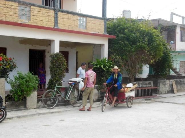 Straat in Holguín