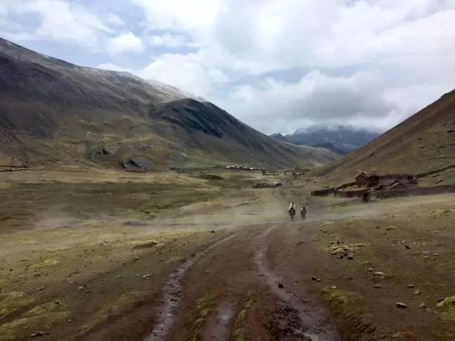 1-daagse trek Rainbow Mountain