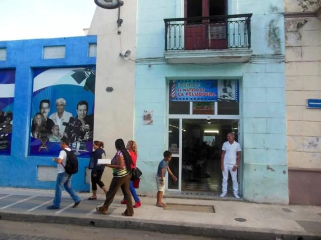 La Calle de Los Cines in Camaguey
