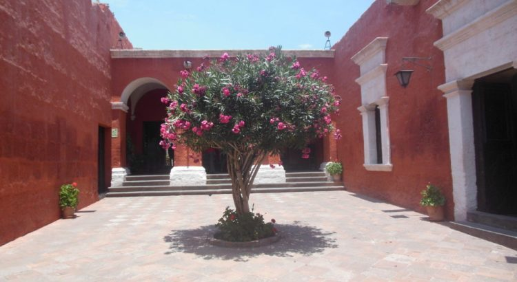 Entree Santa Catalina klooster in Arequipa