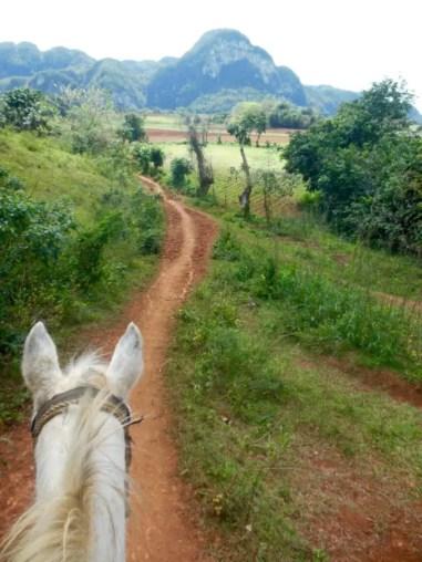 De Valle de Viñales ter paard ontdekken.