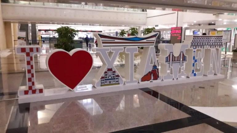 Welkom in Xiamen.