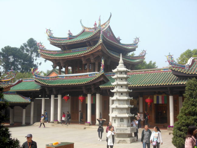 Nanputuo tempel in Xiamen, China.