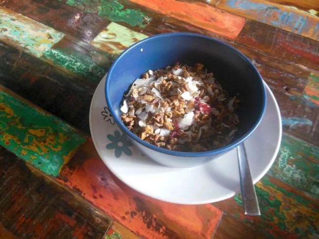 Ontbijtje bij Bali Eco Deli.