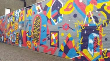 Blind Walls Gallery, artiest niet gevonden, sorry!