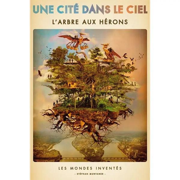 Poster van Arbre aux Herons