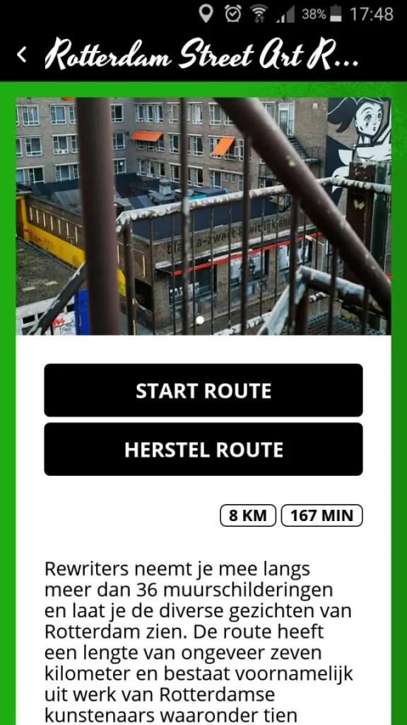Wandel langs de street art van Rotterdam met de Rewriters app