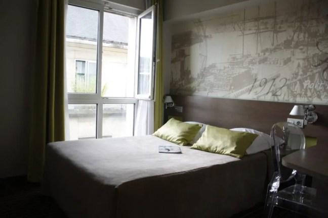 Hotelkamer in Hotel Amiral, Nantes