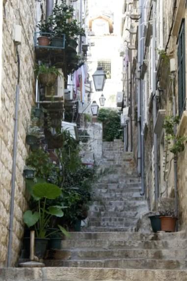 Wees voorbereid op veel traplopen in Dubrovnik!