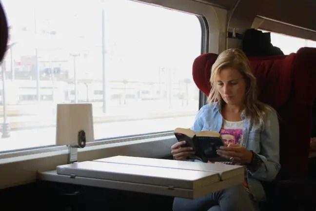 Goede relaxstoelen in de Thalys.