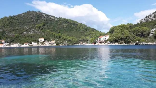 De baai van Okuklje op Mljet.