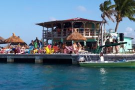 Caye Caulker, The Split