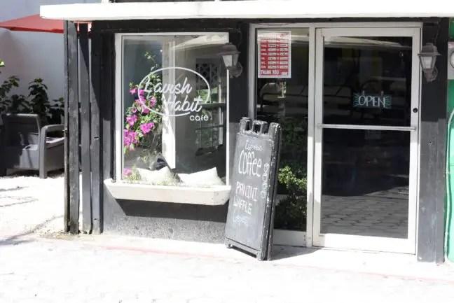 Lavish Habit Café: voor koffie en thee