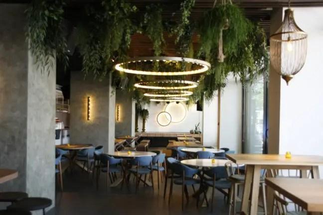 Moderne inrichting bij De Gele Kanarie Rotterdam