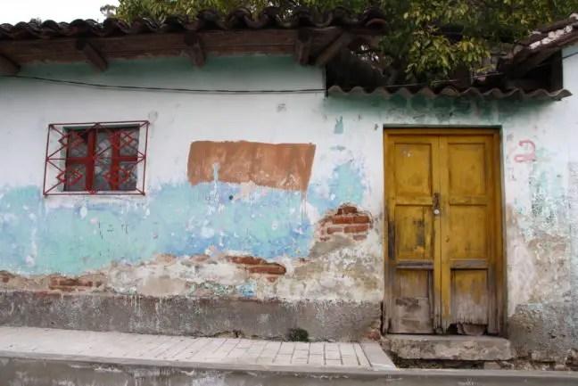 Huisje in San Cristóbal de las Casas, Mexico.