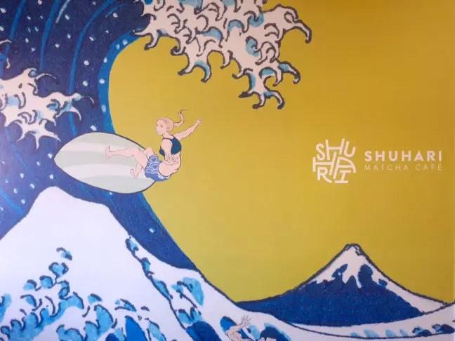 Shuhari in Venice, een matcha café