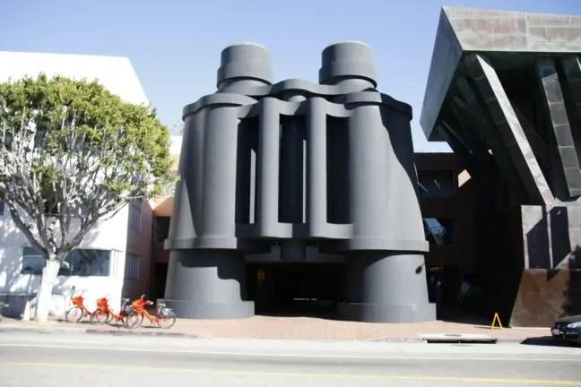 Het Binoculars Building (a.k.a. het Google kantoor in Venice)