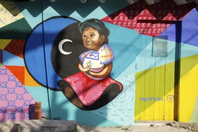 Kleurrijke street art