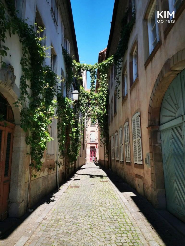 Narrow streets in Strasbourg