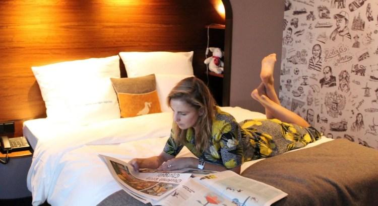 Hotelkamer in Hamburg | Kim op reis