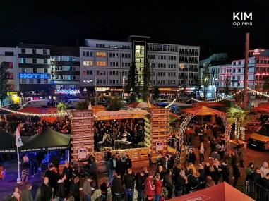 Reeperbahn Festival - Spielbudenplatz in de avond