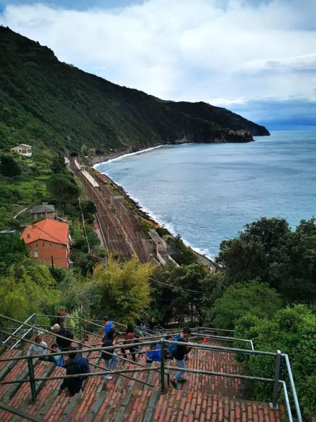 Trappen van Corniglia