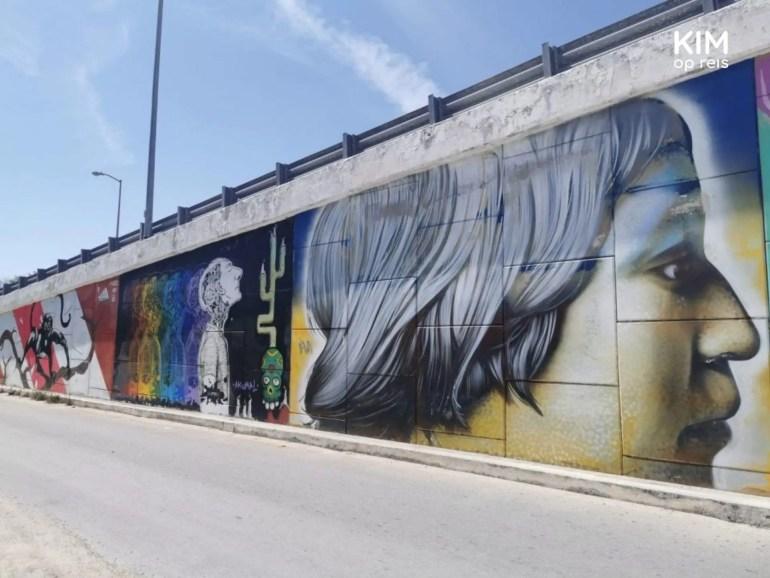 Street art in Akumal
