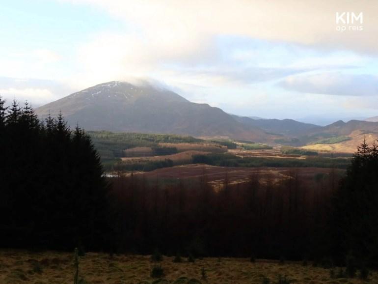 Uitzicht in de Schotse Hooglanden
