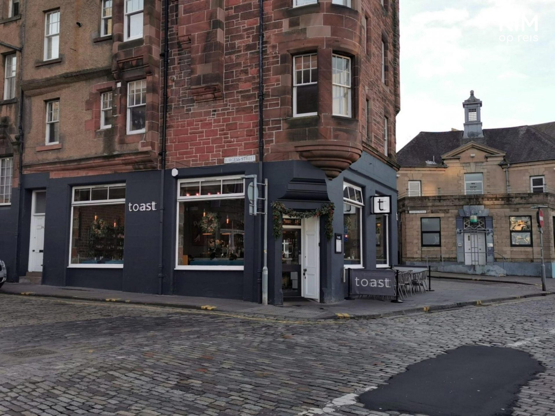Toast in Leith