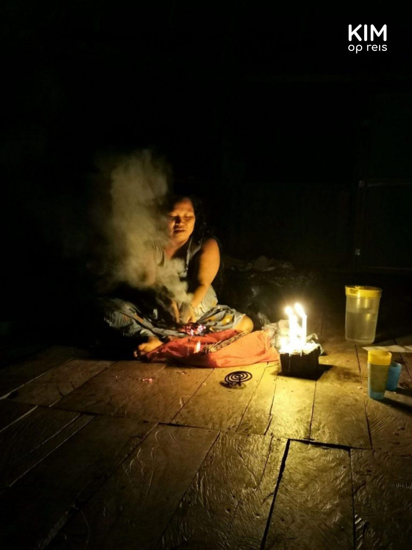 Ruimte reinigen Ayahuasca ceremonie