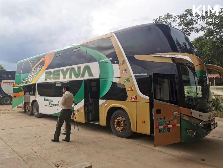Bus in Peru