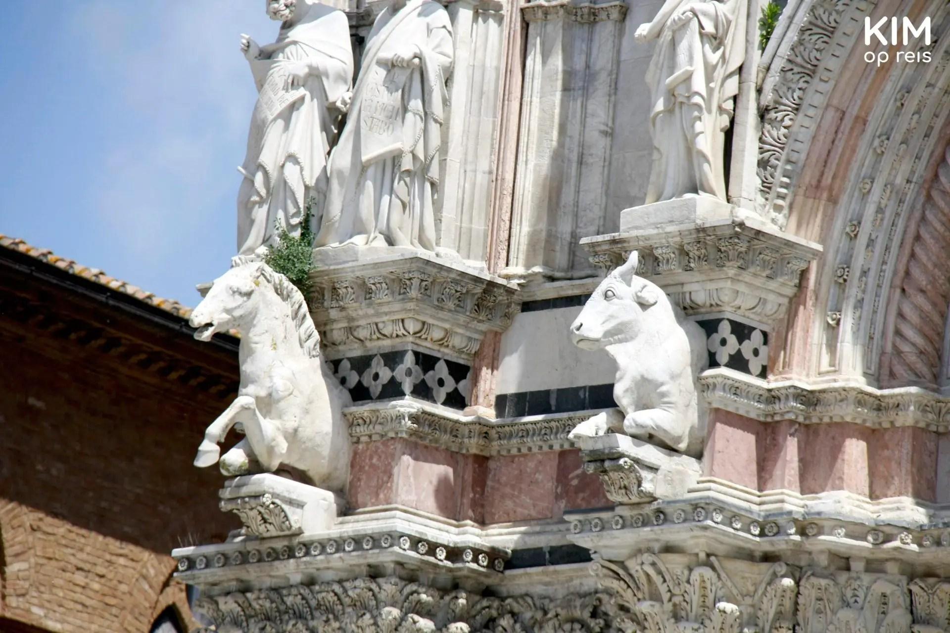 Detail Duomo Siena