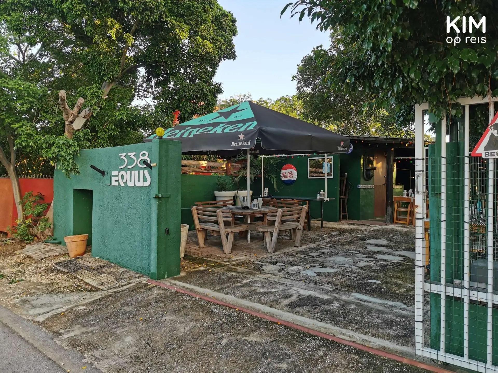 Entrance Restaurant Equus Curaçao