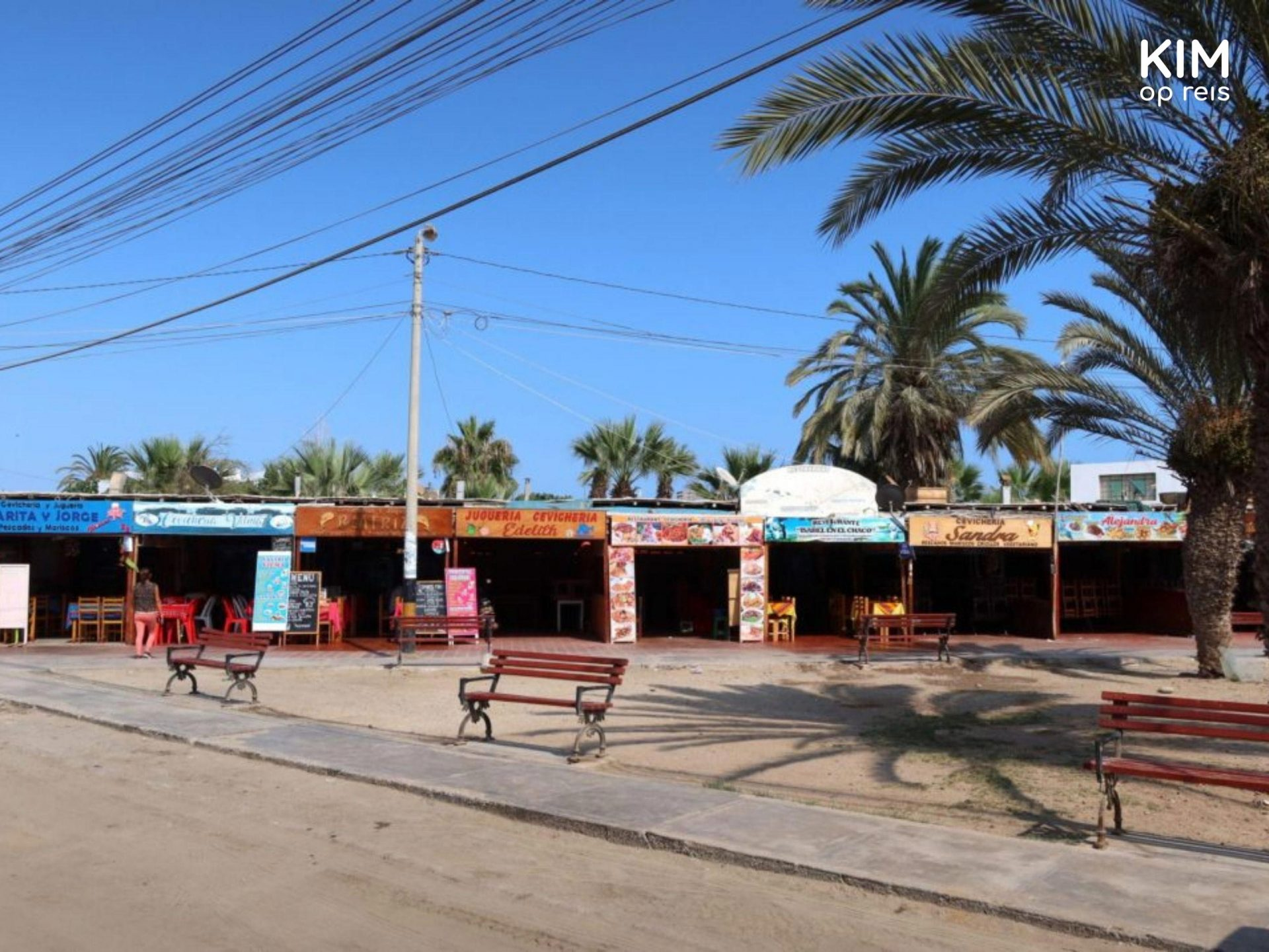 Paracas restaurants
