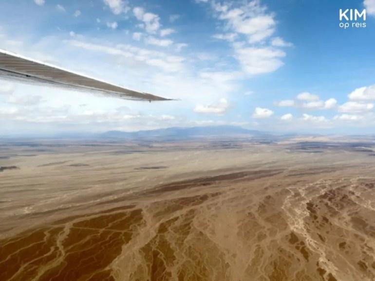 Vliegen Nazca Peru