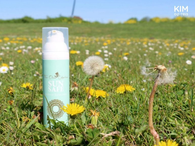 Natural sunscreen Sun Safe The Ohm Collection