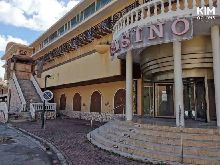 Vervallen casino Willemstad