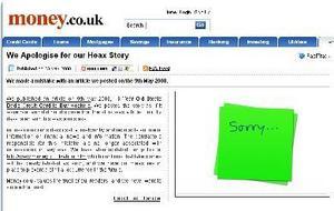 Linkbait-Gate: Money.co.uk Apologises
