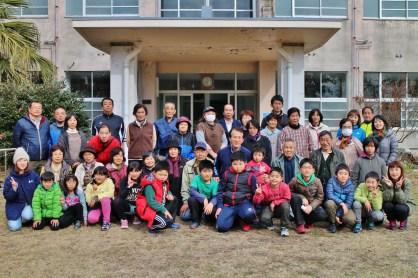 最南端の集落に老若男女が集う、楽しい会になりました