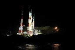 20:33、ロケットの丘展望所から