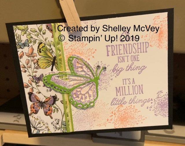 Stampin' Up! Beauty Abounds and Botanical Butterfly Designer Series Paper