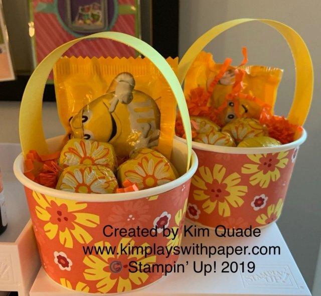 Stampin' Up! May Baskets